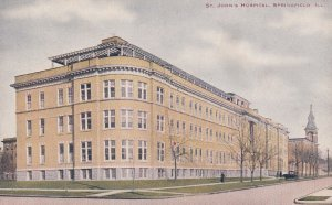 SPRINGFIELD, Illinois, 1900-1910s; St. John's Hospital
