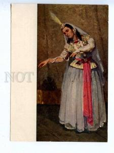 197017 RUSSIA ballerina by Mirza Zadeh old postcard
