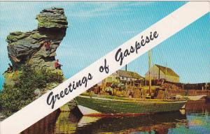 Canada Quebec Gaspe Greetings Of Gaspesie