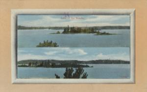 LAKE OF THE WOODS , Ontario , Canada, 1911 ; Split Views