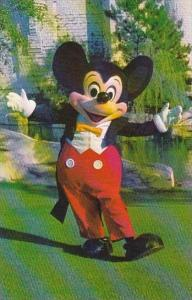 Florida Walt Disney World Welcome Mickey Mouse Has Been The Belover Symbol Of...