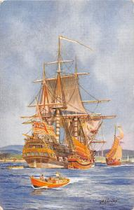 East India Company's Ships, schiff, boats bateaux, A. Chidley