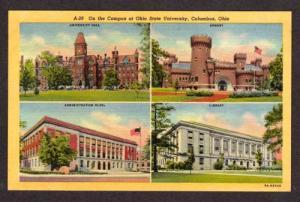 OH Campus at OHIO State University COLUMBUS Postcard PC