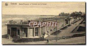 Old Postcard Ostend Promenoir Gallery and Panorama Towards the Kursaal