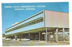 Exterior, United States Immigration Station, Nogales, Arizona,  40-60s