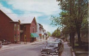 Main Street , Ste-Anne de la Pocatiere , Quebec , Canada , PU-1960