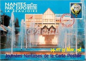 Postcard Modern Nantes La Beaujoire Park Expo 14 and November 15, 98 Journees...