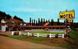 California Rio Dell Humboldt Gables Motel 1987