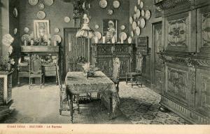 France - Bouges. Grand Hotel, Le Bureau