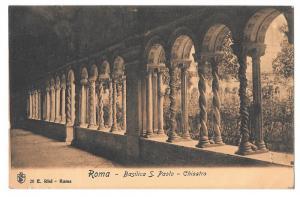 Italy Roma Basilica S Paolo Chiostro Saint Paul Cloister