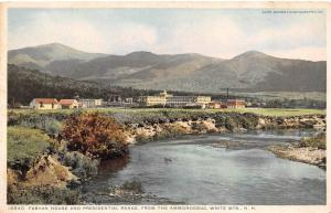 NH, New Hampshire  FABYAN HOUSE~PRESIDENTIAL RANGE From The Ammonoosuc  c1920's