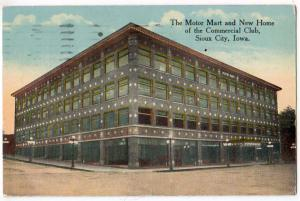 Motor Mart & new Commercial Club, Sioux City Iowa