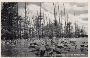 TENNESSEE, 1910-20s; Out from Jim Hutchcraft's Place on Reelfoot Lake