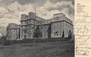 Pardee Hall, Lafayette College, Easton, Pennsylvania, 1906 Postcard, Used