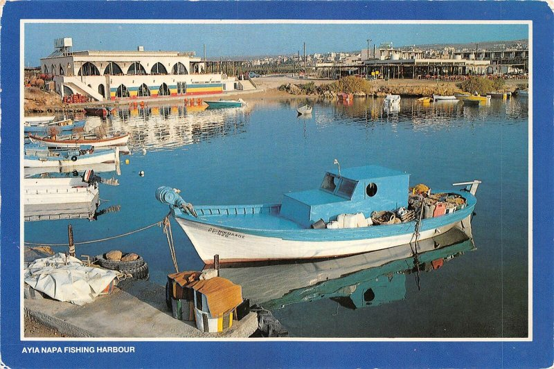 us7157 ayia napa fishing harbour cyprus