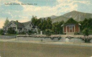Catholic Church Sierra Madre California Teich C-1910 20-9784