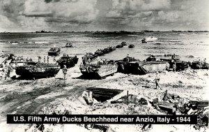 Italy - Anzio, 1944. US 5th Army Ducks Beachhead