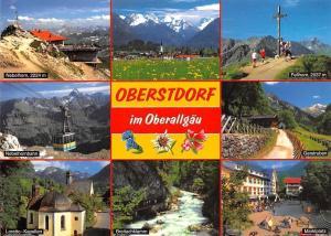 Oberstdorf im Oberallgaeu, Gerstruben Fellhorn Gipfel Marktplatz Kapellen