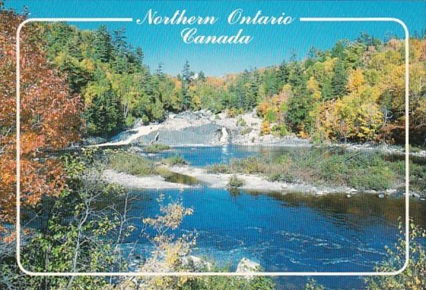 Canada Northern Ontario In Autumn