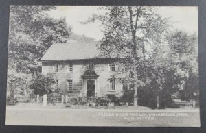 Mission House Museum, Stockbridge, Mass.