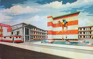 Atlantic City New Jersey 1958 Postcard Sahara Motel