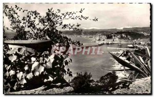 Old Postcard The Cotes D & # 39Azor L & # 39Entree The Port of Nice