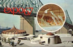 Canada - Quebec, Montreal. Expo 67 - Alcan Pavilion
