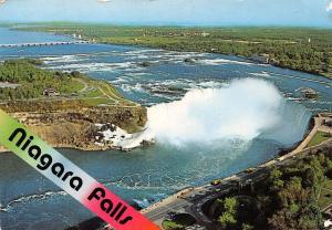 Canada Niagara Falls Chutes du Niagara Air view General view