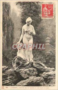 Old Postcard Luchon Statue of Lys-Valley in the Park