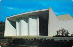 Oberlin Ohio~College~Sophronia Brooks Hall Auditorium~1955 LL Cook Postcard
