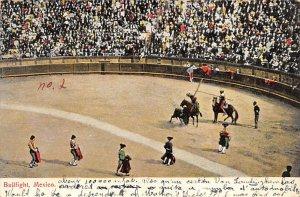 Bullfighting Tarjeta Postal Bullfighting 1909