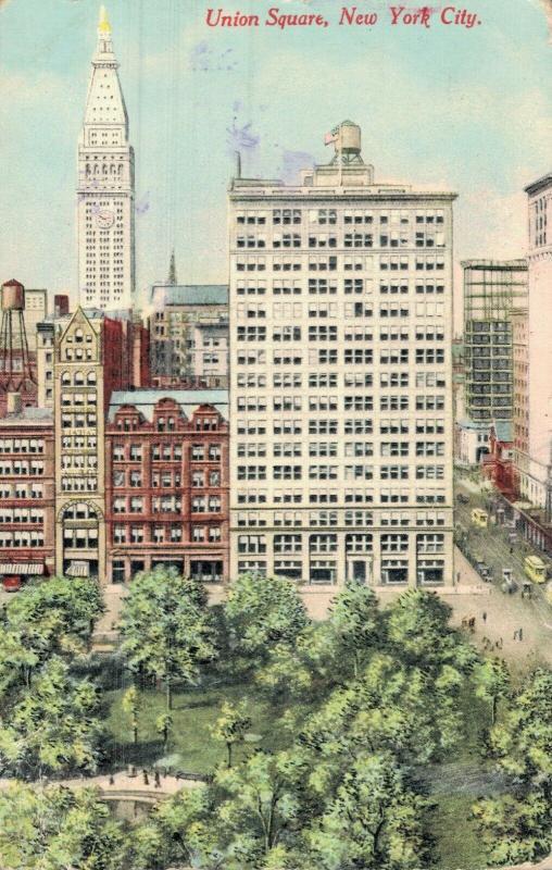 USA New York Union Square 01.68