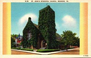 Virginia Roanoke St John's Episcopal Church