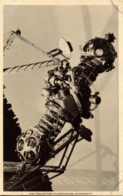 NY - New York City. Hayden Planetarium. Projection Instrument   (Astronomy)