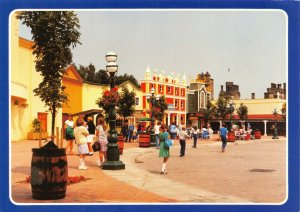 Postcard, Talbot Street, Alton Towers Leisure Park, North Staffordshire 5Z