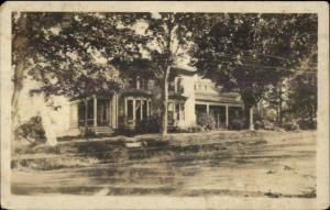 Winthrop ME Cancel Home c1910 Real Photo Postcard