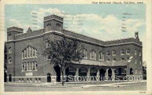 First Methodist Church - Fairfield, Iowa IA