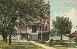 Cedar Rapids Iowa Coe College 2nd Story Porch @ Williston Hall Girls Dorm 1910