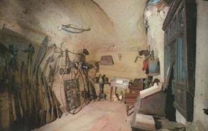 Jerusalem Inn Mortimers Room Rare Photo Postcard