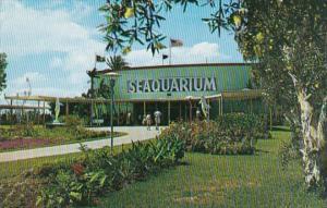 Florida Miami Main Entrance To Miami Seaquarium