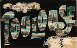 CPA Souvenir de TOULOUSE (582700)
