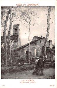 Artist Post Card Retour des Champs by J. A. Muenier Musee du Luxe...