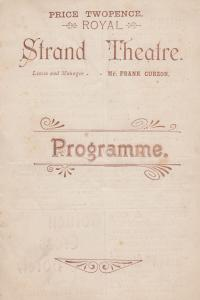The Wrong Mr Wright Grey Parrot Comedy 1900 Strand Theatre Programme