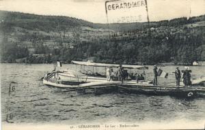 CPA GÉRARDMER Le Lac Embarcade (151458)