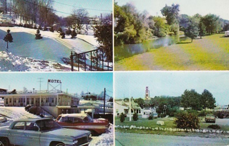 Maryland Hagerstown Water View Motel 1964