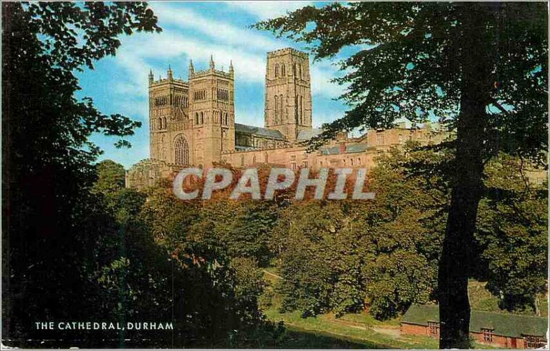 Modern Postcard The cathedral durham