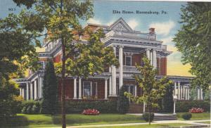 ELKS Home , BLOOMSBURG , Pennsylvania , 30-40s