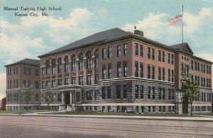 KANSAS CITY , Missouri , 00-10s ; Manual Training High School