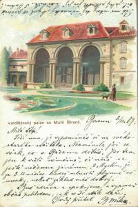 Czech Republic Valdštejnský palác na Malé Straně 02.29