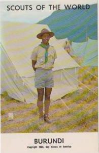 Boy Scouts of the World: #83 Burundi, 1968